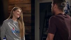 Chloe Brennan, Mark Brennan in Neighbours Episode 7907