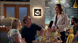Xanthe Canning, Gary Canning, Amy Williams in Neighbours Episode 7907