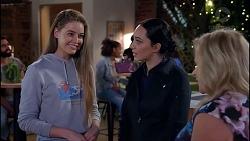 Chloe Brennan, Mishti Sharma, Sheila Canning in Neighbours Episode 7907