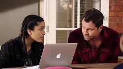 Yashvi Rebecchi, Shane Rebecchi in Neighbours Episode 7909