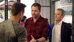Aaron Brennan, Shane Rebecchi, Paul Robinson in Neighbours Episode 7909