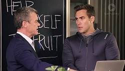 Paul Robinson, Aaron Brennan in Neighbours Episode 7909