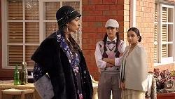 Dipi Rebecchi, Yashvi Rebecchi, Kirsha Rebecchi in Neighbours Episode 7909