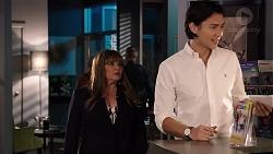 Terese Willis, Leo Tanaka in Neighbours Episode 7910
