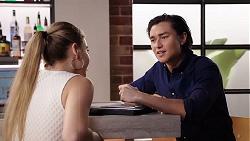 Chloe Brennan, Leo Tanaka in Neighbours Episode 7910