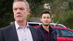 Paul Robinson, David Tanaka in Neighbours Episode 7910