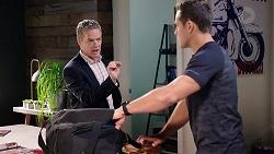 Paul Robinson, Aaron Brennan in Neighbours Episode 7910