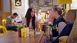Mishti Sharma, Xanthe Canning in Neighbours Episode 7910