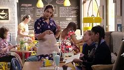 Dipi Rebecchi, Xanthe Canning, Yashvi Rebecchi in Neighbours Episode 7910