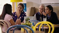 Mishti Sharma, Dipi Rebecchi, Xanthe Canning, Yashvi Rebecchi in Neighbours Episode 7911