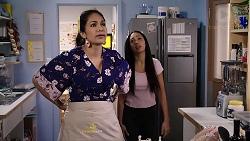 Dipi Rebecchi, Mishti Sharma in Neighbours Episode 7911