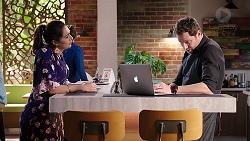 Dipi Rebecchi, Shane Rebecchi in Neighbours Episode 7911