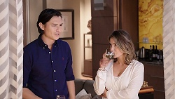 Leo Tanaka, Amy Williams in Neighbours Episode 7911