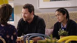 Dipi Rebecchi, Shane Rebecchi, Yashvi Rebecchi in Neighbours Episode 7911