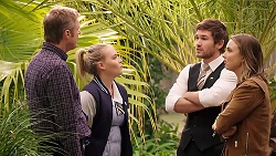 Gary Canning, Xanthe Canning, Ned Willis, Amy Williams in Neighbours Episode 7911