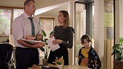 Toadie Rebecchi, Piper Willis, Nell Rebecchi in Neighbours Episode 7912