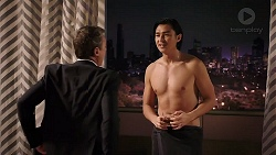 Paul Robinson, Leo Tanaka in Neighbours Episode 7912