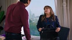 Leo Tanaka, Terese Willis in Neighbours Episode 7912