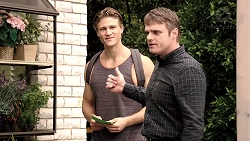 Cassius Grady, Gary Canning in Neighbours Episode 7913