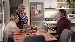 Xanthe Canning, Sheila Canning, Gary Canning in Neighbours Episode 7914