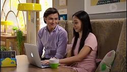 Leo Tanaka, Mishti Sharma in Neighbours Episode 7914