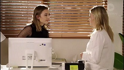 Piper Willis, Xanthe Canning in Neighbours Episode 7914