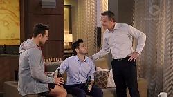 Aaron Brennan, David Tanaka, Paul Robinson in Neighbours Episode 7915