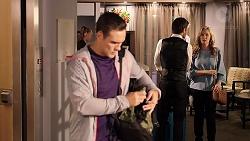 Aaron Brennan, Ned Willis, Elissa Gallow in Neighbours Episode 7915