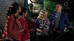 Dipi Rebecchi, Susan Kennedy, Sheila Canning, Clive Gibbons in Neighbours Episode 7915