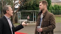 Paul Robinson, Mark Brennan in Neighbours Episode 7917
