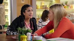 Yashvi Rebecchi, Xanthe Canning in Neighbours Episode 7917