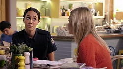 Mishti Sharma, Xanthe Canning in Neighbours Episode 7917