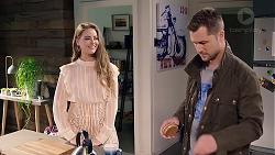 Chloe Brennan, Mark Brennan in Neighbours Episode 7917