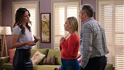 Elly Conway, Xanthe Canning, Karl Kennedy in Neighbours Episode 7917