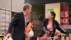 Paul Robinson, Yashvi Rebecchi in Neighbours Episode 7917