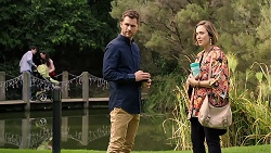 Mark Brennan, Sonya Mitchell in Neighbours Episode 7918