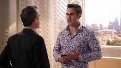 Paul Robinson, Aaron Brennan in Neighbours Episode 7918