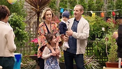 Susan Kennedy, Sonya Mitchell, Nell Rebecchi, Hugo Somers, Toadie Rebecchi in Neighbours Episode 7918