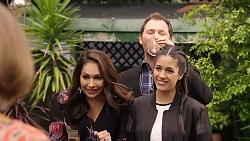 Dipi Rebecchi, Shane Rebecchi, Yashvi Rebecchi in Neighbours Episode 7918
