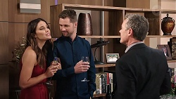 Elly Conway, Mark Brennan, Paul Robinson in Neighbours Episode 7918