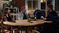Sonya Mitchell, Toadie Rebecchi, Mark Brennan in Neighbours Episode 7918