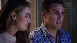 Chloe Brennan, Aaron Brennan in Neighbours Episode 7918