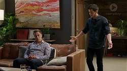 Aaron Brennan, David Tanaka in Neighbours Episode 7919