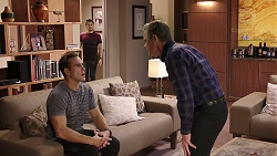 Aaron Brennan, David Tanaka, Paul Robinson in Neighbours Episode 7919