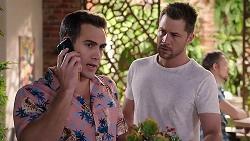 Aaron Brennan, Mark Brennan in Neighbours Episode 7920
