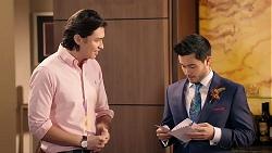 Leo Tanaka, David Tanaka in Neighbours Episode 7921