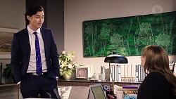 Leo Tanaka, Terese Willis in Neighbours Episode 7921