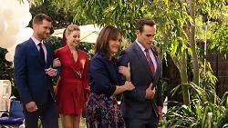 Mark Brennan, Chloe Brennan, Fay Brennan, Aaron Brennan in Neighbours Episode 7921