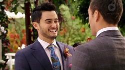 David Tanaka, Aaron Brennan in Neighbours Episode 7921