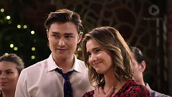 Leo Tanaka, Amy Williams in Neighbours Episode 7922